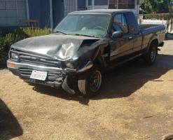 1992 Toyota Pickup Extended Cab (2 doors)