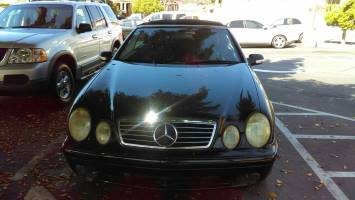 2002 Mercedes-Benz CLK Convertible