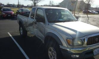 2001 Toyota Tacoma Extended Cab (2 doors)
