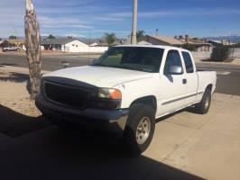 2001 GMC New Sierra Extended Cab (4 doors)