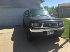 1996 Toyota Tacoma Extended Cab (2 doors)