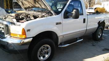 2001 Ford F250 Regular Cab (2 doors)