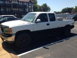 1999 GMC New Sierra Extended Cab (3 doors)